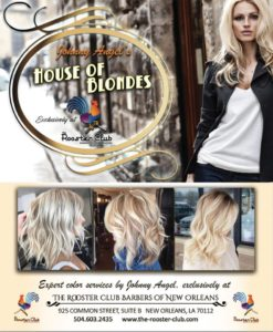 House of Blondes - New Orleans color services by Johnny Angel